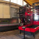 Parco macchine SALL lamiere e acciai Laser Fibra AMADA
