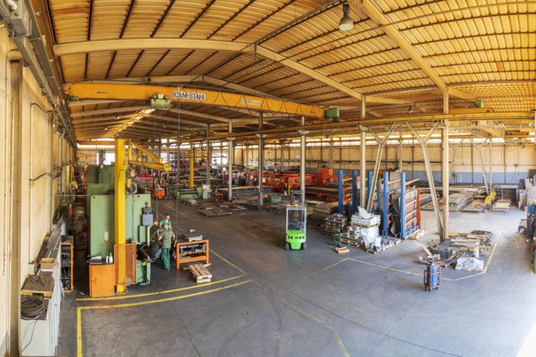 SALL lamiere e acciai produzione