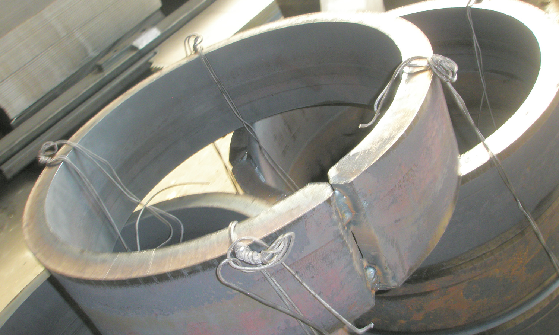 Calandratura parco macchine SALL lamiere e acciai