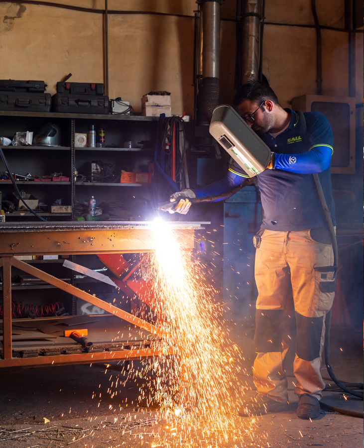 Smussatura parco macchine SALL lamiere e acciai